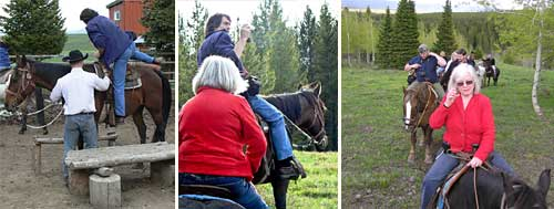 Horse riding - Diamond P Ranch, West Yellowstone