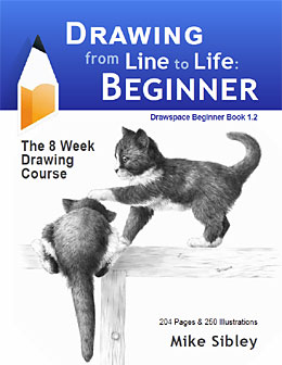 Drawing from Line to Life: Beginners 8*week self-directed drawing course by Mike Sibley