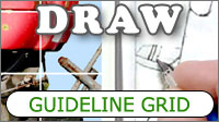 Using the Grid to convert a photo or sketch into layout guidelines for a drawing or painting