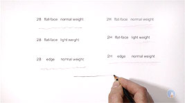 Value and Weight of pencil lines explained