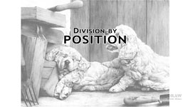 Position as a division - background, midground, or foreground