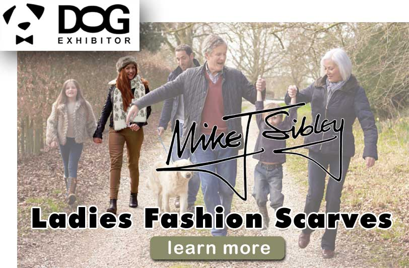 Mike Sibley Ladies Fashion Scarves by DogExhibitor.com