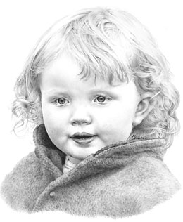 'Charlotte' my granddaughter by Mike Sibley