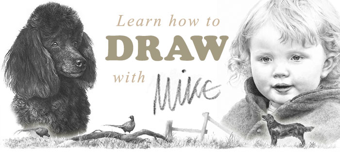 Learn to draw with Mike Sibley