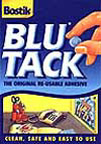 Blu-Tack wall putty and eraser