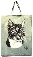 Shopping bag - cat