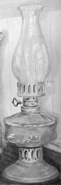Annie's lamp in Drawing Critique